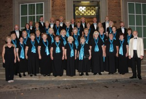 Choir posing at Ellesmere